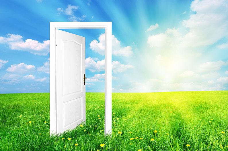 UFIND | Veerkracht in je werk deur gesloten deur open