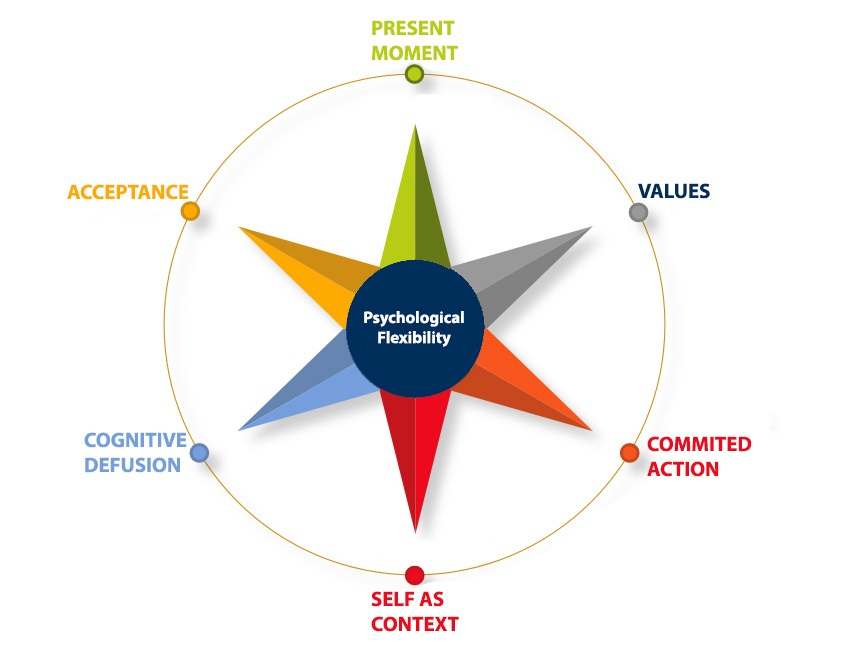 UFIND | the 6 pillars of Acceptance en Commitment Theory